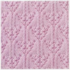 Lace Knitting Stitch #36 {charted}