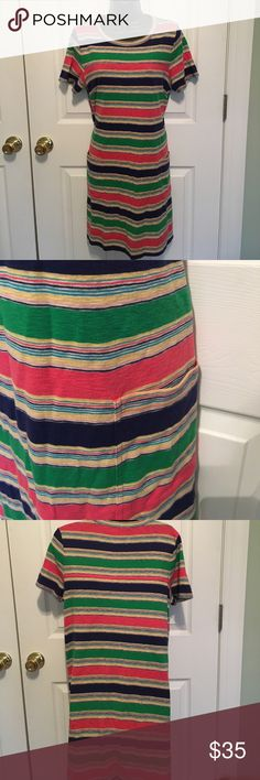 Marc by Marc Jacobs Striped Dress Super Cute! Ready for Summer! Marc by Marc Jacobs Striped Dress Large Excellent Condition Marc by Marc Jacobs Dresses Midi