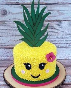 Hawaii Luau Party Ideen, Hawaii Luau Partyzubehör - [board_name] - Kuchen Flamingo Party, Flamingo Birthday, Flamingo Cake, Anniversaire Luau, Pinapple Cake, Pinapple Birthday Cake, Luau Cakes, Pool Party Cakes, Luau Party Supplies