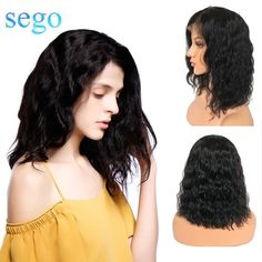 Lace Front Black Wig black and white lace front wig Lace lace front bob wigs – Shebelt mall Short Bob Wigs, Short Hair Wigs, Very Short Hair, Human Hair Wigs, Short Hair Styles, Short Hairstyles For Women, Hairstyles With Bangs, Weave Hairstyles, Straight Hairstyles