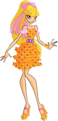 Winx club Stella outfit