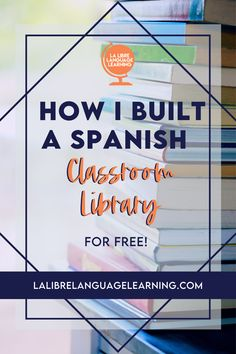 Did you know that reading in Spanish is the most effective way to teach and learn Spanish vocabulary? Creating a Spanish classroom library with comprehensible input readers for your high school Spanish class is the easiest idea to ramp up your Spanish 1 curriculum this year! Spanish 2 students in middle school will also love free voluntary reading. The best part? You can get Spanish books and resources for free! Read here to see how I did it! #fvr #spanishclassroom #classroomlibrary… Spanish Teacher, Spanish Classroom, Classroom Ideas, Communicative Language Teaching, Language Proficiency, Middle School Spanish, Elementary Spanish, Vocabulary Instruction, Spanish Vocabulary