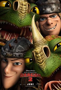 How to Train Your Dragon 2-Ruffnut, Tuffnut, Barf, and Belch