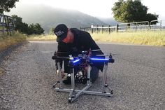 Drone Motorcycle This is very interesting find and I am very happy to know that some are being posted