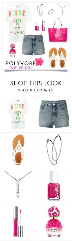 """""""Spring Looks"""" by rboowybe ❤ liked on Polyvore featuring Moschino, Givenchy, Charlotte Russe, Mystic Light, Forzieri, Essie, Anastasia Beverly Hills and Marc Jacobs"""