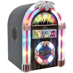 Pyle Home Tabletop Retro Jukebox - Consumer Electronics