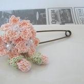 桜ショールピン:ピンク