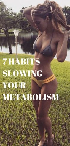"""*A MUST READ* 7 """"Healthy"""" Habits Hurting Your Metabolism. Best thing I've read about our metabolism. Fitness Motivation, Sport Motivation, Fitness Diet, Fitness Goals, Health Fitness, Fitness Weightloss, Get Healthy, Healthy Habits, 7 Habits"""