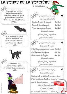 La soupe de la sorcière - Michel Briant - Paroles