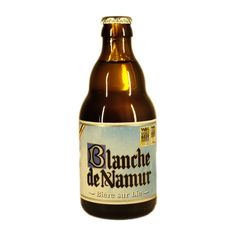 Blanche de Namur is a classic top fermented wheat beer, brewed with wheat, hops and yeast that produce that traditional cloudy appearance. Blond, cloudy and milky color (colloidal turbidity when cold): the cloudiness is created when the beer is cold but can disappear when the beer warms up or is kept in the cold for too long a time.  Aroma : Fine fruity, revealing the spices used: coriander and bitter orange.