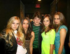 Lindsay, Katie, Israel, Emma, Taissa ( The bling ring)