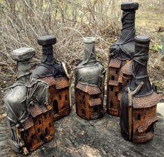 Подарки для мужчин, ручной работы. Ярмарка Мастеров - ручная работа бутылки декоративные. Handmade.