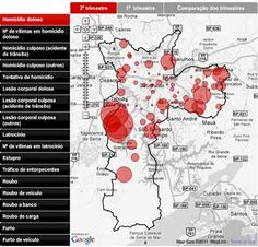 Map showing that the most dangerous neighborhoods in Sao Paulo are between Itapecerica and Taboao, where I served as a missionary. I lived in a warzone.
