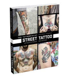 Livre Tatoo street style Nicolas Brulez