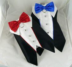 Small dog harness vest. Wedding tuxedo by poshdog on Etsy, $50.00