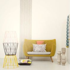 Wire baskets by Ferm Living.