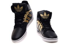 hightops | Adidas High Tops Black Gold [Adidas High Tops] - $82.00 : Justin ...