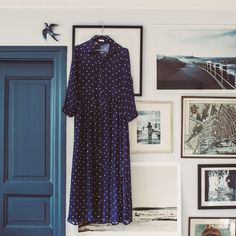 Polka Dot Dress Blue PRE ORDER via For Good Luck. Click on the image to see more!