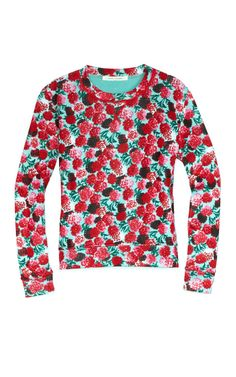 Long Sleeve Floral Sweatshirt from Marc Jacobs
