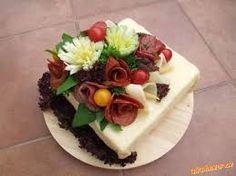 Výsledek obrázku pro slaný dort z toustového chleba Graham, Appetizers, Cheese, Cake, Desserts, Food, Tailgate Desserts, Deserts, Appetizer