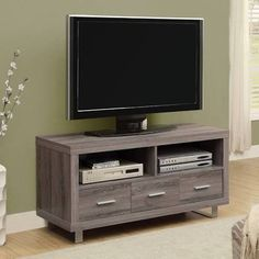 tv stand with drawers - Google Search