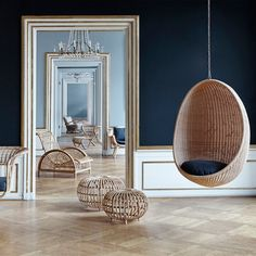 Most of us are familiar with the iconic design of the Egg shaped chair floating in the air. The Hanging Egg Chair is a critically acclaimed design that has enjoyed praise worldwide ever since the distinctive sculptural shape was created by Nanna & Jørgen Ditzel in 1959. The design of the Hanging Egg Chair has long since been dubbed timeless whereas the material rattan had its golden age in the 1960s when skilled wicker makers and architects crafted beautifully sculptured furniture out of…