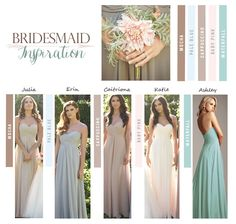 I had an overall vision for my bridesmaids look; a soft mix and match palette of neutral tones, a simple style dress with a feminine and romantic feel. Featured: Allure Style 1221 #rusticwedding2015 {Party Dress Express}