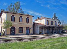 Railway Station Amfiklia