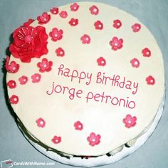 Jorge Petronio Name Cards And Wishes