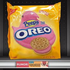 Weird Oreo Flavors, Peeps Flavors, Pop Tart Flavors, Cookie Flavors, Oreos, Cute Food, Yummy Food, Junk Food Snacks, Oreo Cookies