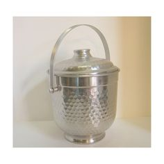 Vintage Nasco Hammered Aluminum Ice Bucket