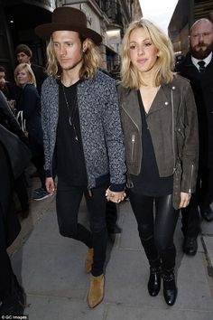 No drama: Dougie says Ellie's previous fling with his pal Niall Horan (before they started...