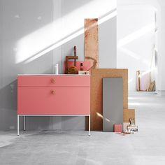 Swoon Sweden Side Waschtisch - Rosa - alt_image_three