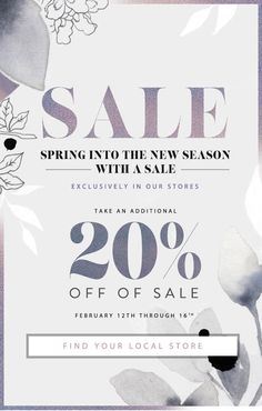 FreePeople Spring Into the Season With a Sale - Sales Email - Ideas of Sales Email - FreePeople Spring Into the Season With a Sale E-mail Design, Layout Design, Media Design, Sale Banner, Web Banner, Banners, Email Layout, Email Newsletter Design, Email Design Inspiration
