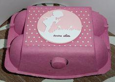 Ostereierbox mit dem süßen Stanzmotiv von Charlie & Pauchen