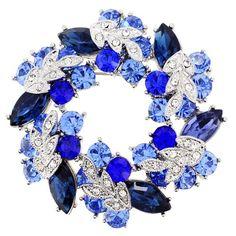 Sapphire Blue Wreath Pin Brooch And Pendant(Chain Not Included) Fantasyard,http://www.amazon.com/dp/B004TB98EA/ref=cm_sw_r_pi_dp_4.wdtb0QZMB5XNQ1
