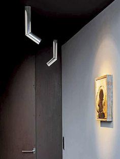 Ceiling spotlight / halogen / round / adjustable - E06 by HABITS Studio | 2006 - LUCEPLAN