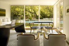 Highland Park Modern Renovation - modern - home office - chicago - Scott Simpson Builders