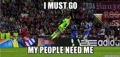 Manuel Neuer / I must go my people need me