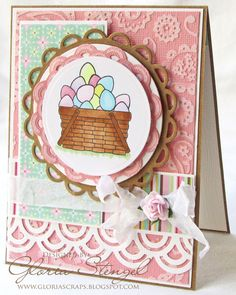 Really nice card. Love the embossed background. Sanded?