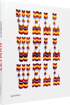 Typographic compositions in the book Letman by Gestalten