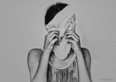 The Scream by Jurgena Tahiri, via Behance