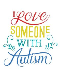 I Love Someone With Autism Tee | Sevenly