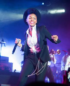 Like Davie Bowie before her, Janelle Monáe is queering music and fashion.