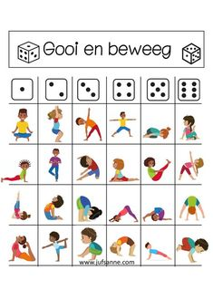 A new trend in your kids' classrooms nowadays. Instead of staring at the board in front, the kids are lying on the floor near their desks practicing yoga Poses Yoga Enfants, Kids Yoga Poses, Yoga For Kids, Exercise For Kids, Gross Motor Activities, Gross Motor Skills, Physical Activities, Preschool Activities, Preschool Playground