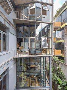 Derelict 19th-century Mexico City home transformed into mixed-use venue