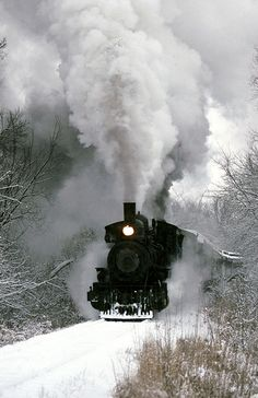 Snow train 1992 by sooline502a, via Flickr