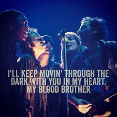 Blood Brothers - Bruce Springsteen and the E Street Band...I miss Clarence...