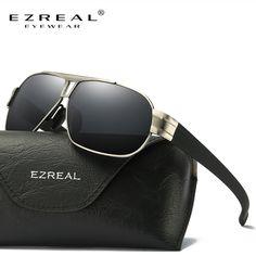 621fd157eaeb1 Encontre mais Óculos de sol Informações sobre EZREAL Polarizada Óculos De  Sol Dos Homens Óculos de