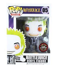 Beetlejuice Funko POP Vinyl Figure  Beetlejuice (Glow in the Dark Chase  Variant) Funko brings home the horror! This 3 tall POP vinyl figure depicts 8ffeb6ccdd7